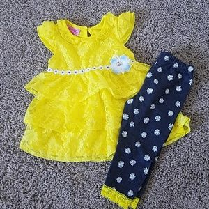 Other - Yellow 2 piece outfit